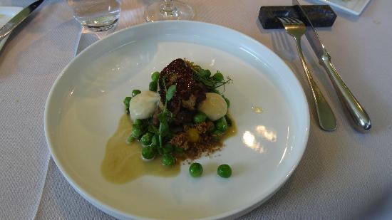 Le Cor de Chasse: Joue de veau foie gras de canard