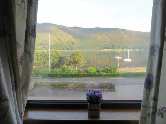 Ardlinnhe Guest House: Vista desde nuestra habtacion