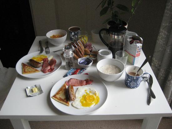 15Glasgow: petit déjeuner
