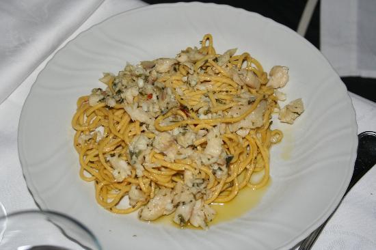 Miralago: Spaghettini al pesce