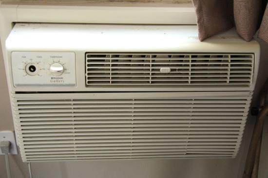 Monticello Motel: Klimaanlage
