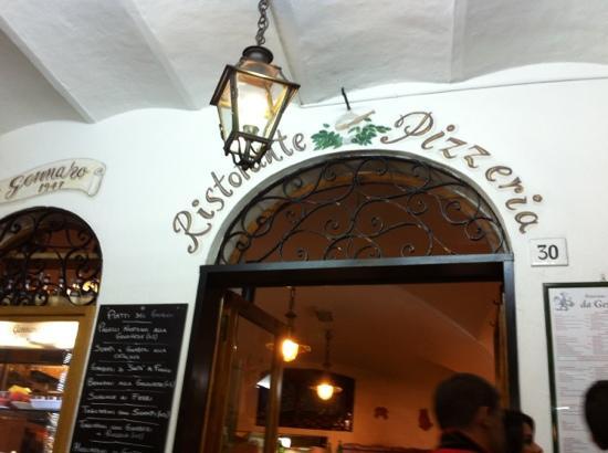 Ristorante Pizzeria Da Gennaro: entrance
