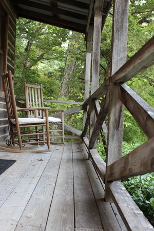 Heaven On Earth: Cowboy Porch with Rockin' Chairs