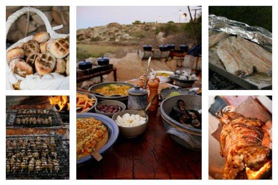 Bosduifklip: West Coast food