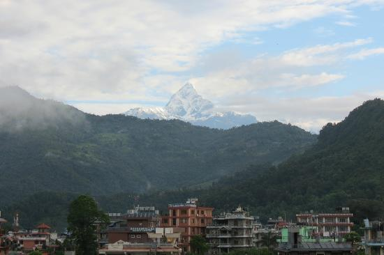 Hotel Family Home: view on Machapuchre