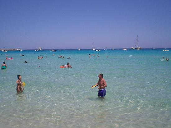 Spiaggia di San Vito lo Capo : il mare incantevole di San Vito lo Capo