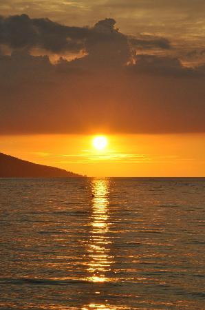 Tante Martha Homestay: Uno dei tanti tramonti..