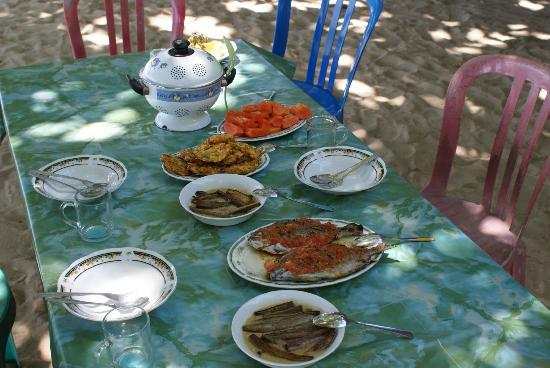 Tante Martha Homestay: Alcuni dei piatti di Marta