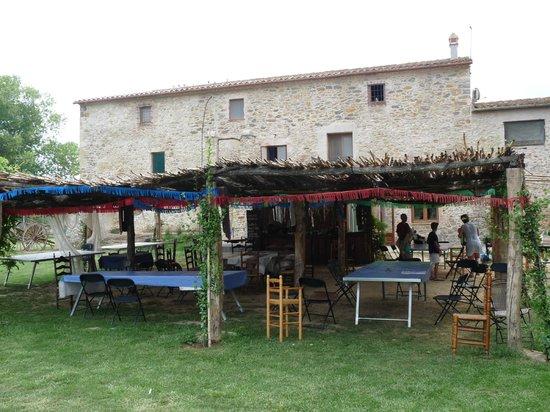 Can Casadella Rural: ZONA DONDE CENABAMOS