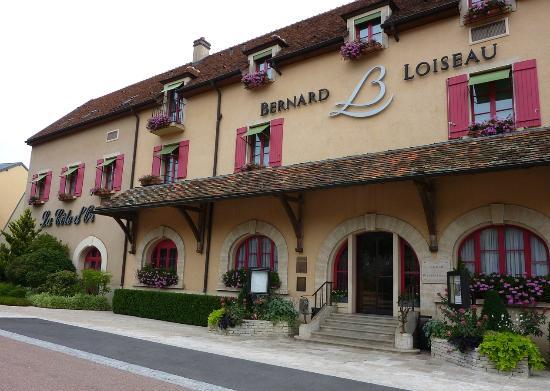 Le Relais Bernard Loiseau: le restaurant