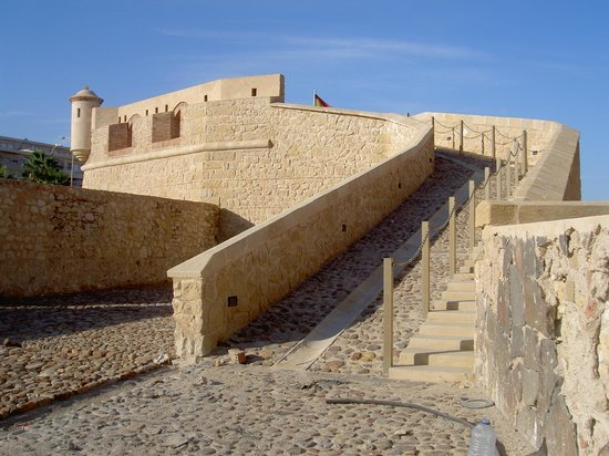 Melilla, Espanha: Subida al Baluarte de las Cinco Palabras