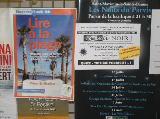 Domaine saint Dominique : Provence verte et culture