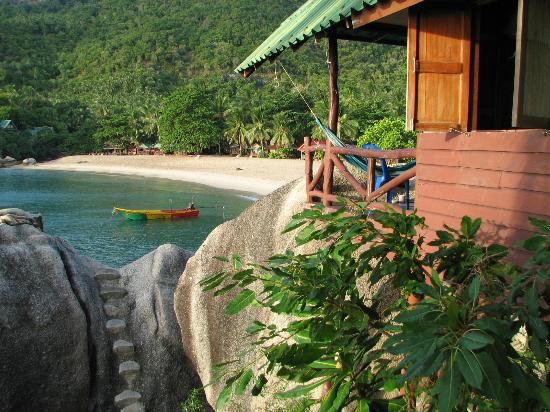 Mai Pen Rai Bungalows: Beach view
