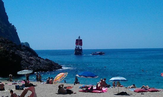 Kleopatra Beach : Damlatas Beach