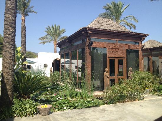 Agroturismo Atzaro: The Spa reception