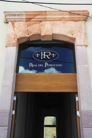 Hotel Real del Patrocinio: La entrada del hotel