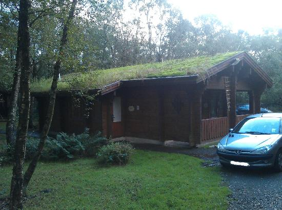 Chevin Country Park Hotel & Spa: Our log cabin :)