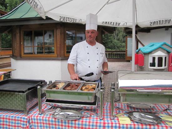 Hotel Waldhof : Küchenchef
