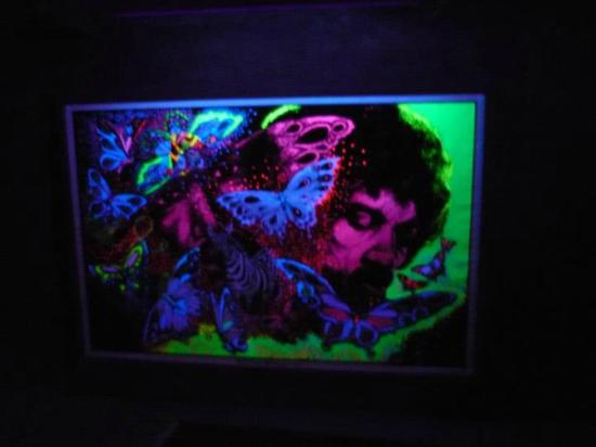 Electric Ladyland - the First Museum of Fluorescent Art: Art by Leon Hendrix