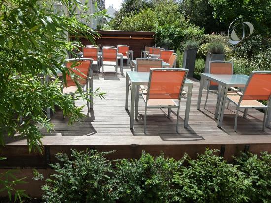 L 39 entr e photo de le jardin gourmand auxerre tripadvisor for Jardin gourmand