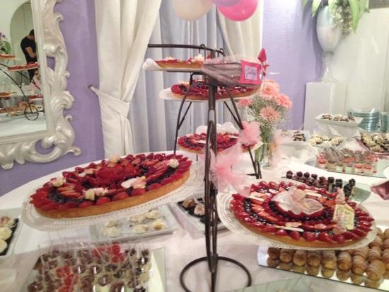 Buffet Di Dolci Battesimo : Buffet di dolcetti per il battesimo di la casa del dolce