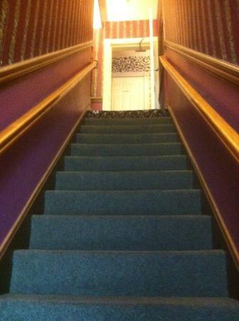 Inn at St. John: Stairwell