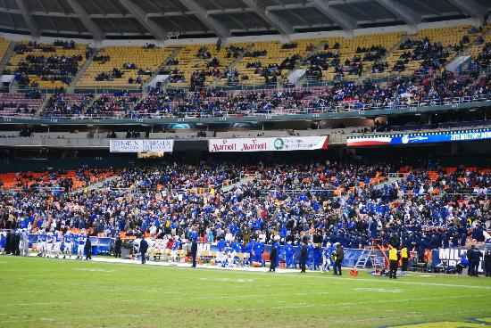 Robert F. Kennedy Memorial Stadium: 2011 Military Bowl