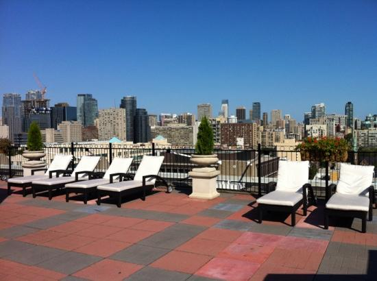 Grand Hotel Toronto: rooftop