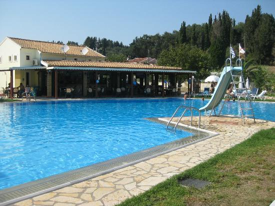 Sidari Strip Picture Of Ostria Apartments Sidari