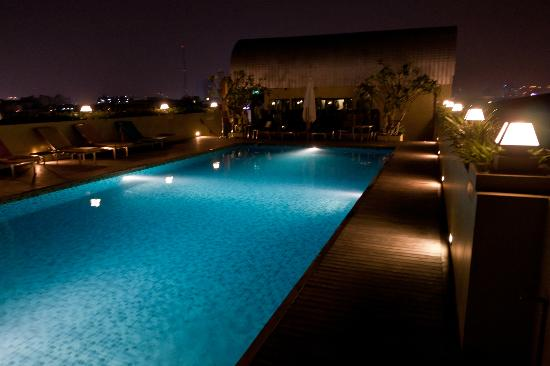 Pools On The Roof Picture Of Nouvo City Hotel Bangkok