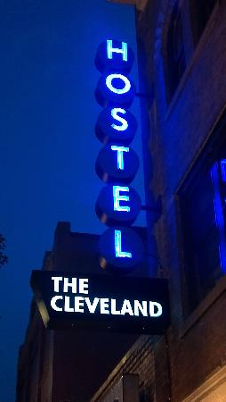 The Cleveland Hostel: Retro Sign