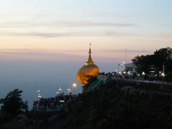 Kin Pun, ميانمار: The rock