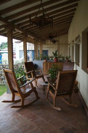 Hotel Casa de Campo Pedasi: breezy portal