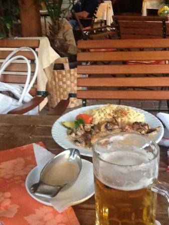 Hotel Restaurant zum Ochsen: petto pollo con pfifferlingen