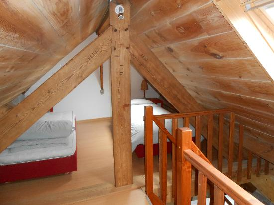 Brughia Bed and Breakfast : attic sleeping loft