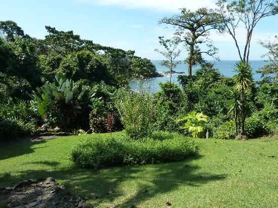 Hotel Las Caletas Lodge: Aussicht vom Haupthaus