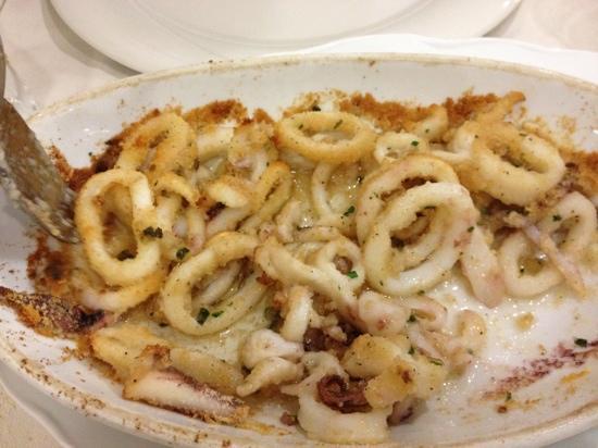 Campegine, Ιταλία: calamari gratinati!! unici!