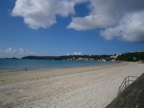 Ocean Walk: View of the beach just outside your door