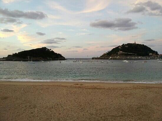 Playa de Ondarreta: Playa de Donostia