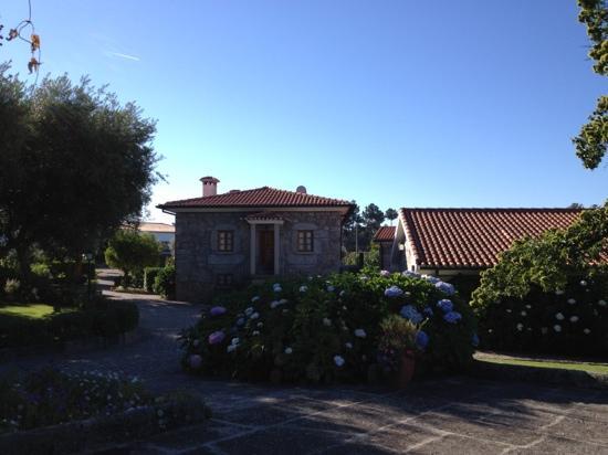 Quinta d'Arroteia: entrada principal