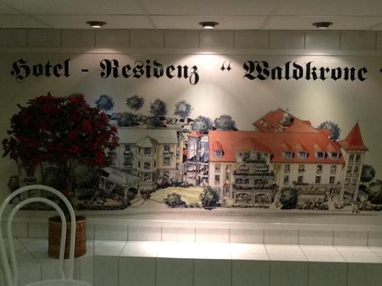 Hotel Residenz Waldkrone: Kelleranimation