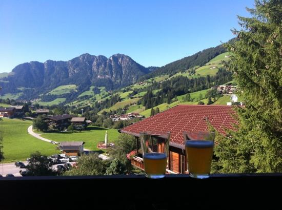 Haus Hislop: view from the penthouse balcony