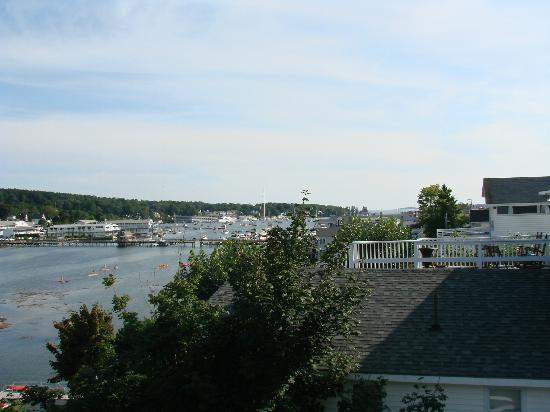 Harborage Inn on the Oceanfront: View from third floor balcony