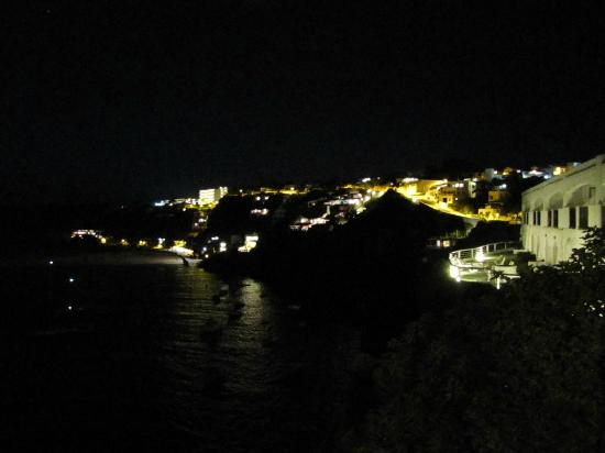 Club Menorca : Our view once the sun had set