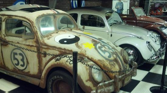 "Mid America Motorworks, My Garage Museum: Two ""Herbie"" VWs used in Disney movies"