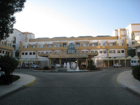 Crystal Tat Beach Golf Resort & Spa: VISTA DEL HOTEL