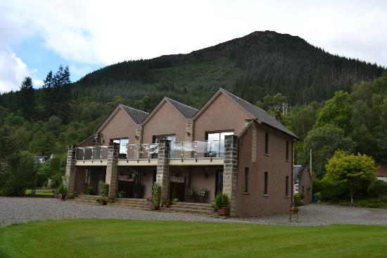 View of the Tigh Na Bruach (House by the Bank)