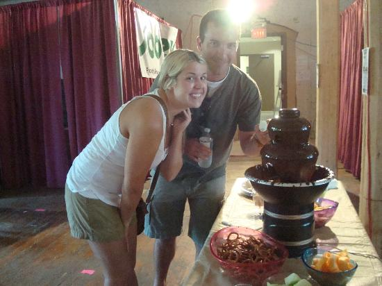 St. Stephen, Canada : Chocolate Fountain