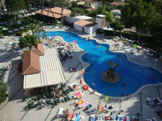 BQ Belvedere Hotel: Piscina dall'alto
