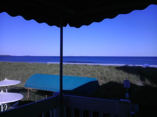 سي كليف هاوس موتل: View from the deck of jacuzzi room #2 